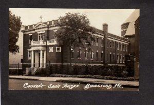 ME Convent Nuns St Saint Andre School Biddeford Maine Real Photo RPPC Postcard