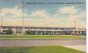Exterior,  Administration Building,  U.S. Naval Air Station,  Jacksonville,  ...