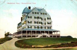 Massachusetts Marblehead Nanepashemet Hotel 1914