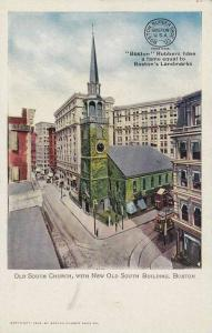 Old South Church,with New Old South Building,Boston,Massachusetts,00-10s