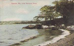 Maine Camden FroM Sherman Point 1910