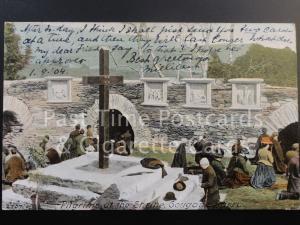 c1904 Co Cork: Gougan Barra, Pilgrims at the Shrine