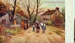 Postcard Hand Tinted View of The Old Blacksmith   NE         S1