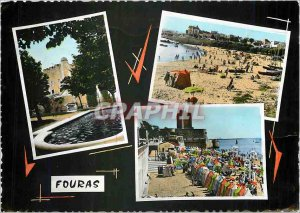 Modern Postcard Fouras (Chte Ms.) The Semaphore South Beach West Beach