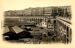 Algeria - Algiers. The Boulevard & The Docks