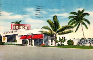 Florida Pompano Beach Bo-Mont Gift Fruit Packing House and Juice Bar