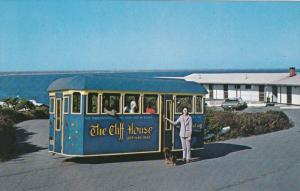Trackless Trolly, Cliff House Motels, Bald Head Cliff, OGUNQUIT , Maine , 50-60s