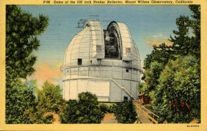 CA - Mt. Wilson Observatory    (Astronomy)