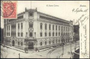 mexico, El Nuevo Correo, New Post Office (1908) Stamp