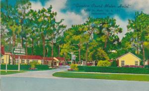 Florida Jacksonville Garden Court Motor Hotel 1966