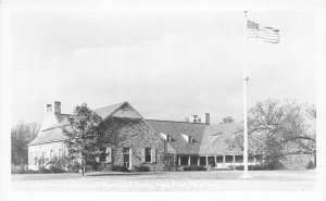 F55/ Hyde Park New York RPPC Postcard c1940s Roosevelt Library