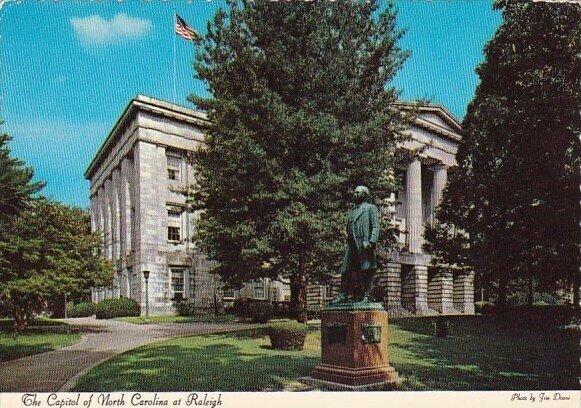The Capitol Of North Caroline At Raleigh North Carolina