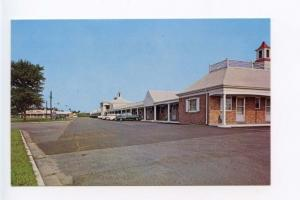 Penns Grove NJ Motel Old Cars Postcard