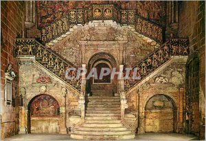 Modern Postcard Burgos Diego Siloe Staircase Dore (XVI) Century)