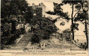 CPA Foret de FONTAINEBLEAU - La Tour Denecourt (166805)