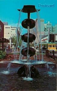 CA, Fresno, California, Fresno Mall, Fountain, Dexter Press No. 99182-B