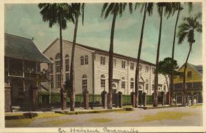 suriname, PARAMARIBO, Moravian Town Church (1930s) Moravian Mission