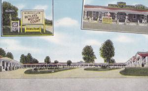 Butler's Motor Court , JACKSONBORO , South Carolina , 30-40s