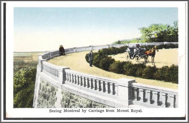 Canada, Montreal - By Carriage From Mount Royal - [FG-102]