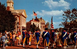 Florida Walt Disney World Liberty Square Fife and Drum Corps