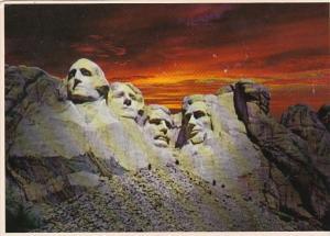 South Dakota The Black Hills Mount Rushmore Memorial