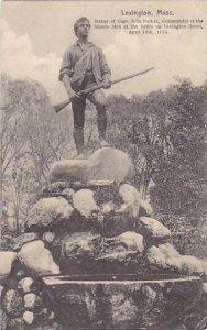 Captain John Parker Monument Lexington massachusetts 1910