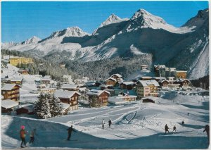 Inner-Arosa, 1800 m, Switzerland, 1974 used Postcard