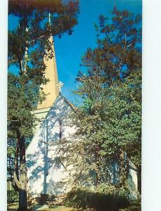 Vintage Post Card St Lukes episcopal Church  Jacksonville  Ala   # 4144
