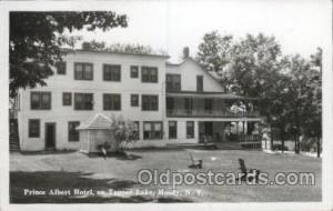 Prince Albert Hotel on Tupper Lake, Moody, New York, USA Motel Hotel Postcard...