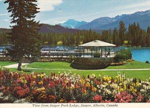 Canada View From Jasper Park Lodge Jasper Alberta