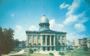 The Old State House, Springfield, Illinois unused Postcard