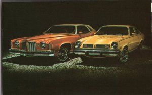 Car Dealer Postcard 1975 PONTIAC Grand Prix 2-Door Hardtop Coupe - Astre