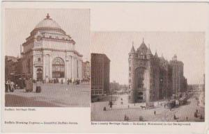 Beautiful Buffalo Series - Views of Buffalo Savings Bank & Erie Co. Savings B...