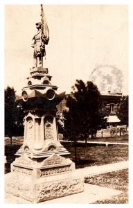 Nebraska  Aurora ,  Soldiers Monument ,  RPC