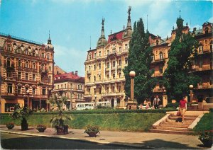 Postcard Europe Czech Republic Marianske lazne