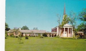 LUFKIN, Texas, 1965; Exterior,  First Christian Church