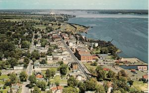 PRESCOTT , Ontario , Canada , 1950-60s ; Bird's Eye View