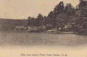 View from Grant's Point, Centre Harbor, New Hampshire, PU-1907