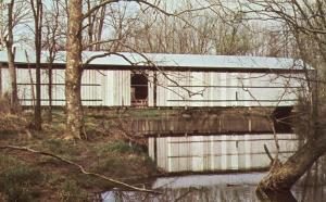 Black Fork Creek Covered Bridge - Richland County #1 near Rome, Ohio