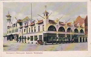 Washington Spokane Davenports Restaurant 1909