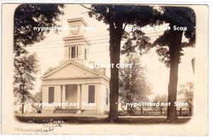 RPPC, Baptist Church, Newport NY