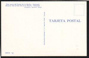 P1461 vintage unused postcard view the port of la guaira venezuela  ships