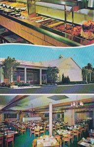 Sweden House Smorgasbord Restaurant Fort Lauderdale Florida 1967