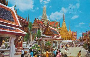 ThailandInside Grounds Wat Phra Keo Emerald Buddha Temple