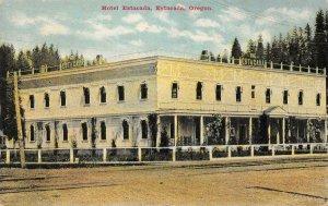 HOTEL ESTACADA Estacada, Oregon ca 1910s Vintage Postcard
