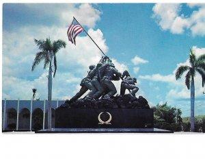 Replica of Flag Raising at Iwo Jima in Cape Coral Gardens, Florida
