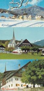 Gasthof Pension Kirchenwirt Schladming 3x Austria Postcard s