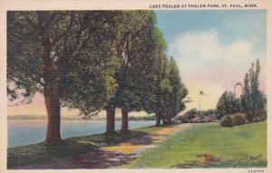 Minnesota St Paul Lake Phalen At Phalen Park Curteich