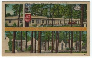 Eden, Maryland, Views of TEMPLE HILL GUEST COTTAGES