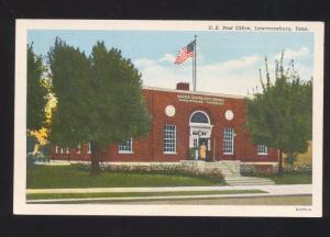 LAWRENCEBURG TENNESSEE UNITED STATES POST OFFICE VINTAGE POSTCARD U.S. TENN.